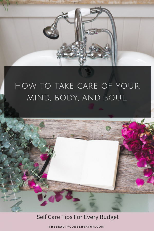 Inexpensive Self Care Ideas