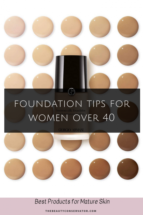 Best Foundation For Mature Skin